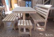 Мебель для дачи,  для бани и сауны из липы